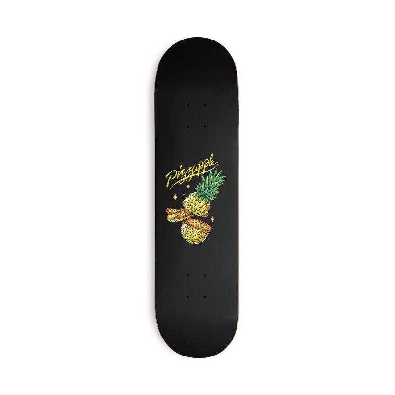 Pizzapple Accessories Deck Only Skateboard by kooky love's Artist Shop