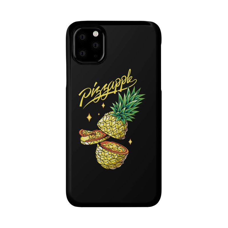 Pizzapple Accessories Phone Case by kooky love's Artist Shop