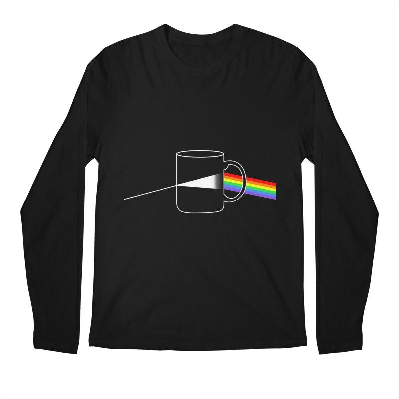 DARK COFFE Men's Regular Longsleeve T-Shirt by kooky love's Artist Shop