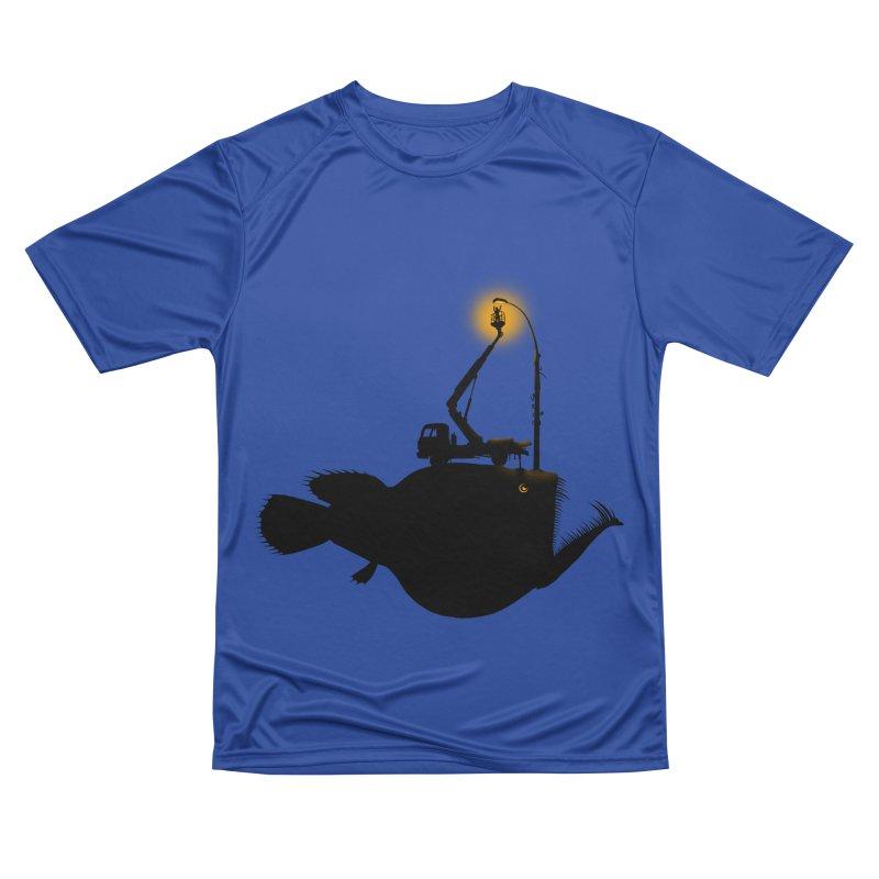 Lamp fish Men's Performance T-Shirt by kooky love's Artist Shop