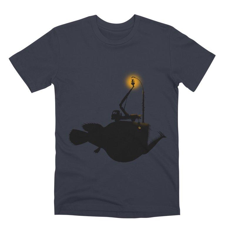 Lamp fish Men's Premium T-Shirt by kooky love's Artist Shop