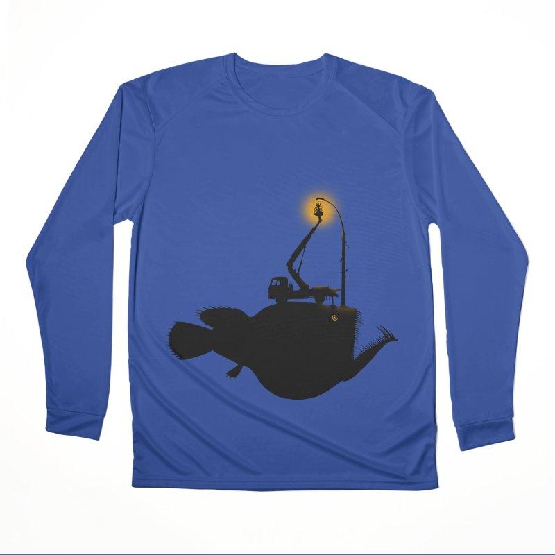Lamp fish Women's Performance Unisex Longsleeve T-Shirt by kooky love's Artist Shop