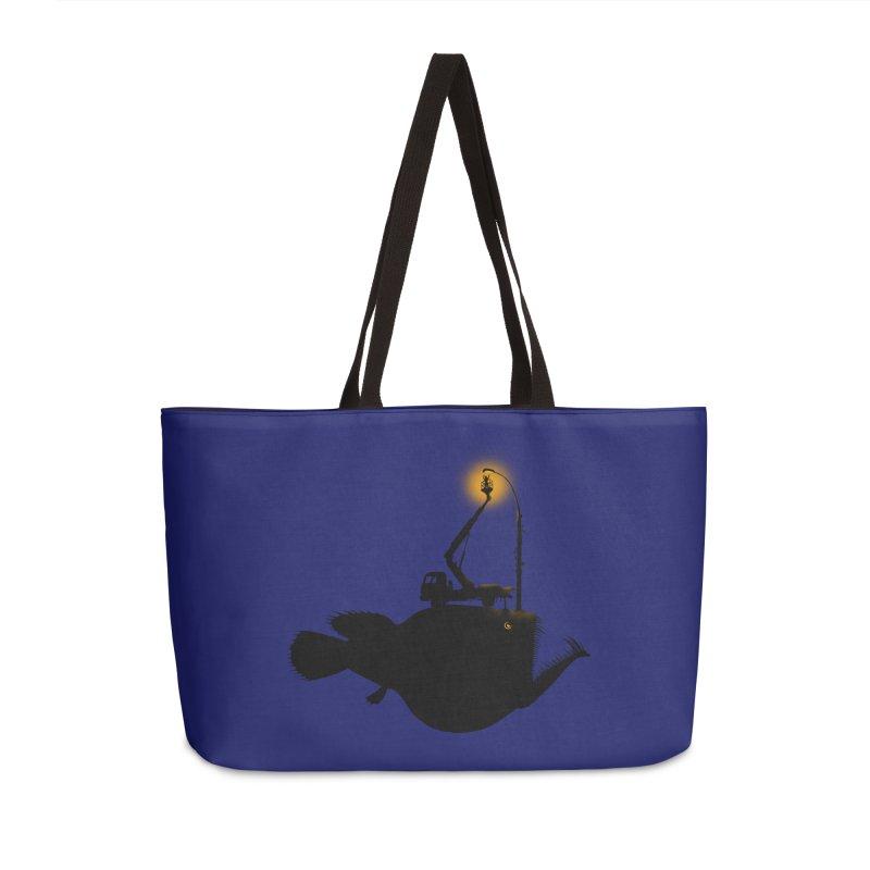 Lamp fish Accessories Weekender Bag Bag by kooky love's Artist Shop