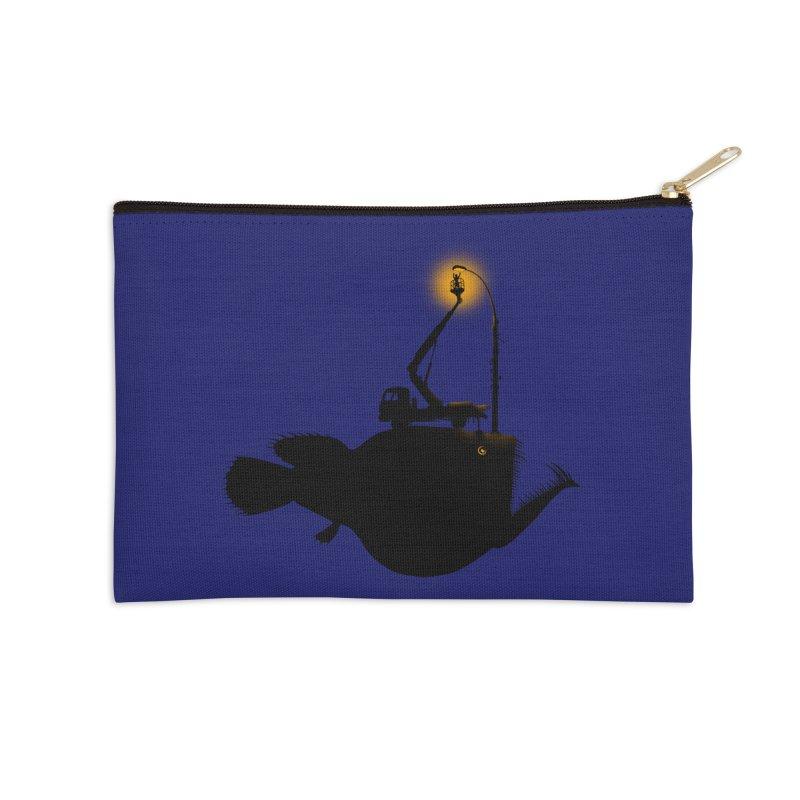 Lamp fish Accessories Zip Pouch by kooky love's Artist Shop