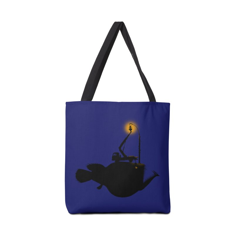 Lamp fish Accessories Tote Bag Bag by kooky love's Artist Shop