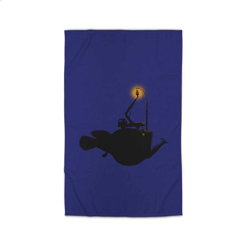 Lamp fish Home Rug by kooky love's Artist Shop