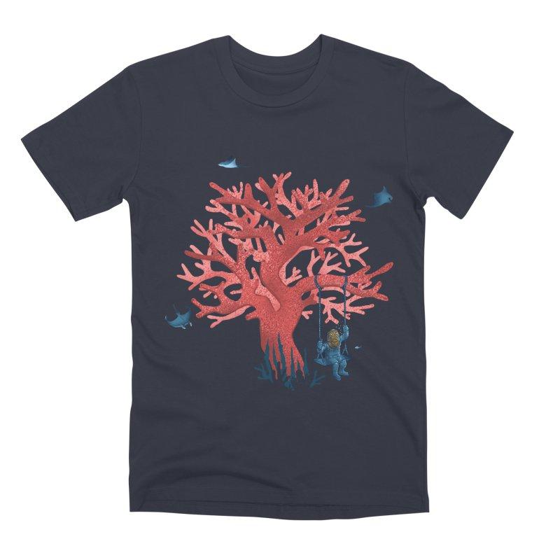 Coral Swing Men's Premium T-Shirt by kooky love's Artist Shop
