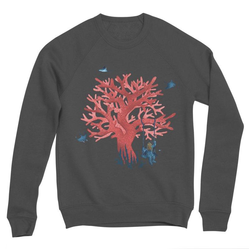 Coral Swing Men's Sponge Fleece Sweatshirt by kooky love's Artist Shop