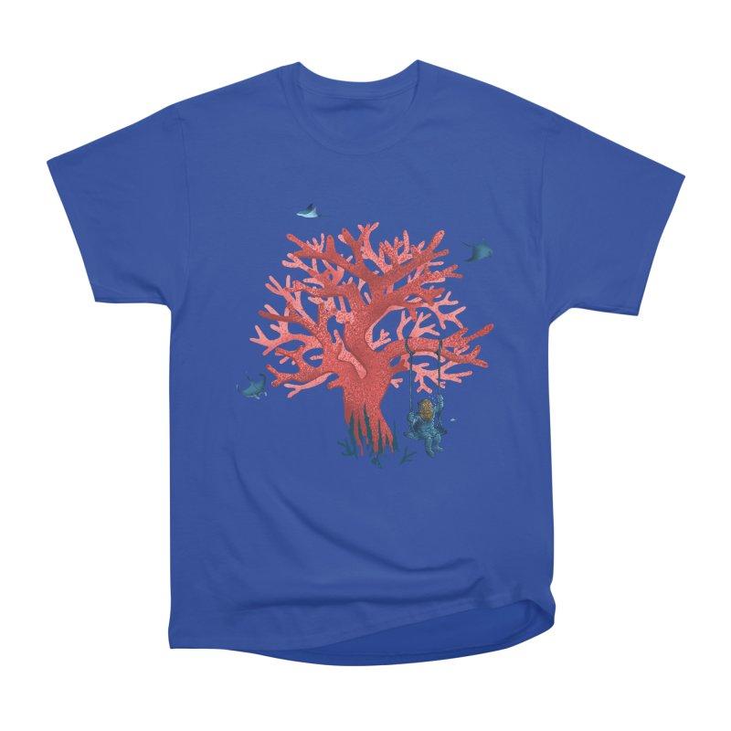 Coral Swing Women's Heavyweight Unisex T-Shirt by kooky love's Artist Shop
