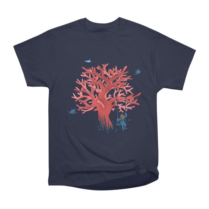 Coral Swing Men's Heavyweight T-Shirt by kooky love's Artist Shop