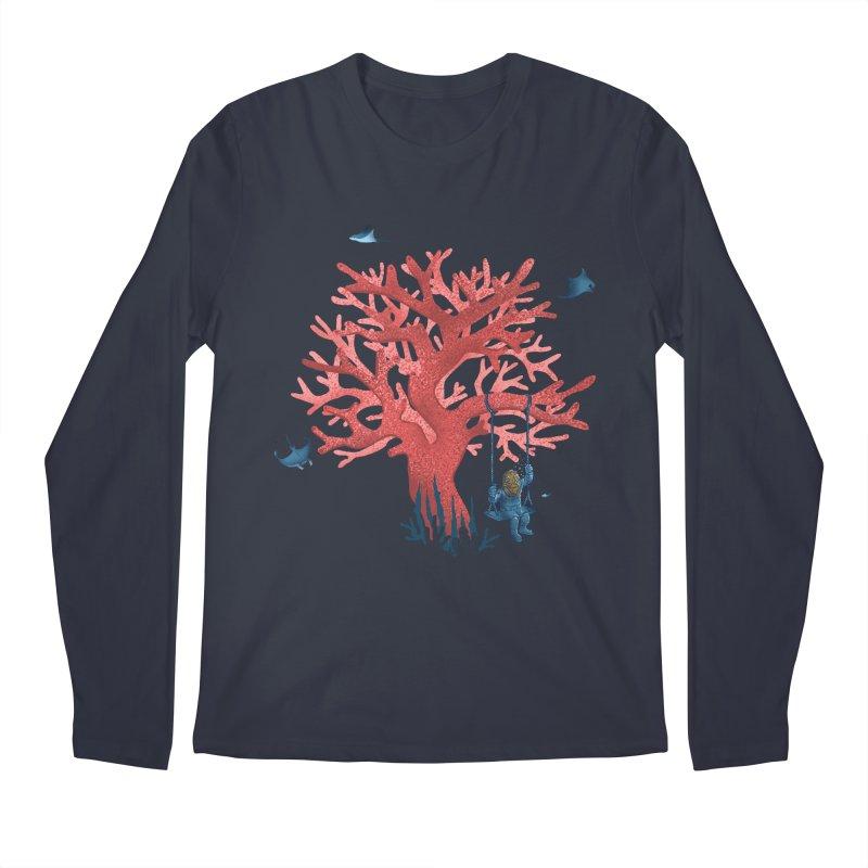 Coral Swing Men's Regular Longsleeve T-Shirt by kooky love's Artist Shop