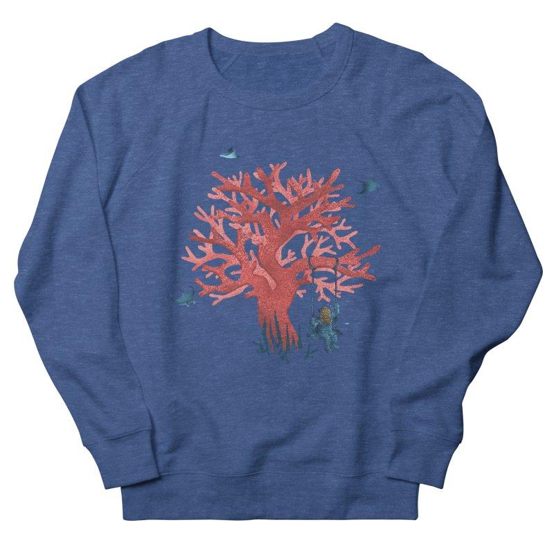 Coral Swing Women's French Terry Sweatshirt by kooky love's Artist Shop