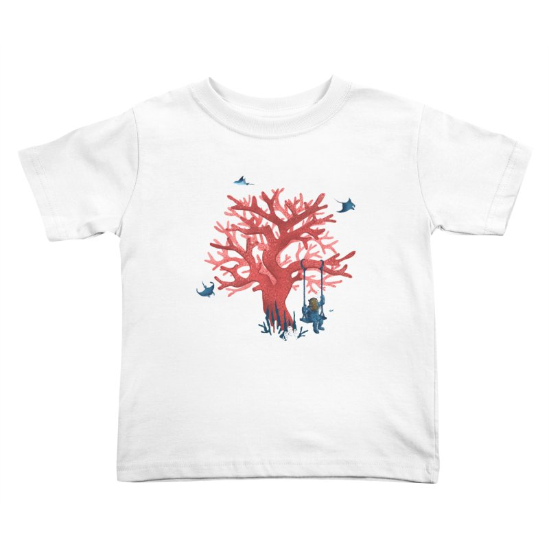 Coral Swing Kids Toddler T-Shirt by kooky love's Artist Shop
