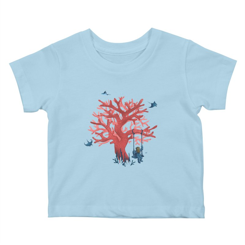 Coral Swing Kids Baby T-Shirt by kooky love's Artist Shop