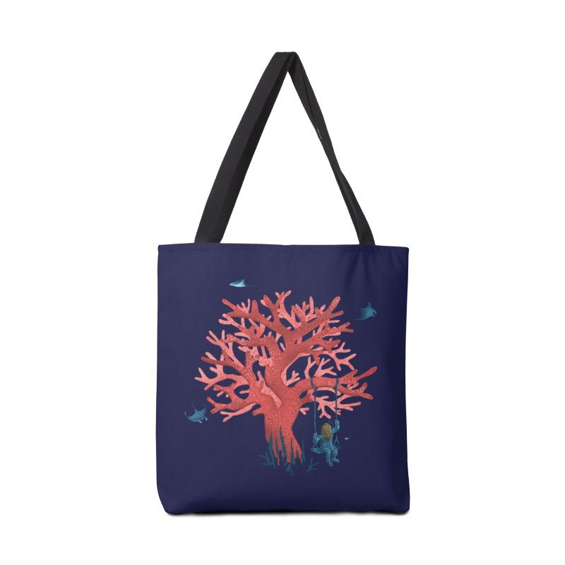 Coral Swing Accessories Tote Bag Bag by kooky love's Artist Shop