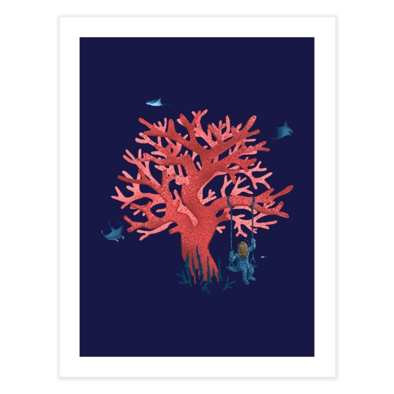 Coral Swing Home Fine Art Print by kooky love's Artist Shop