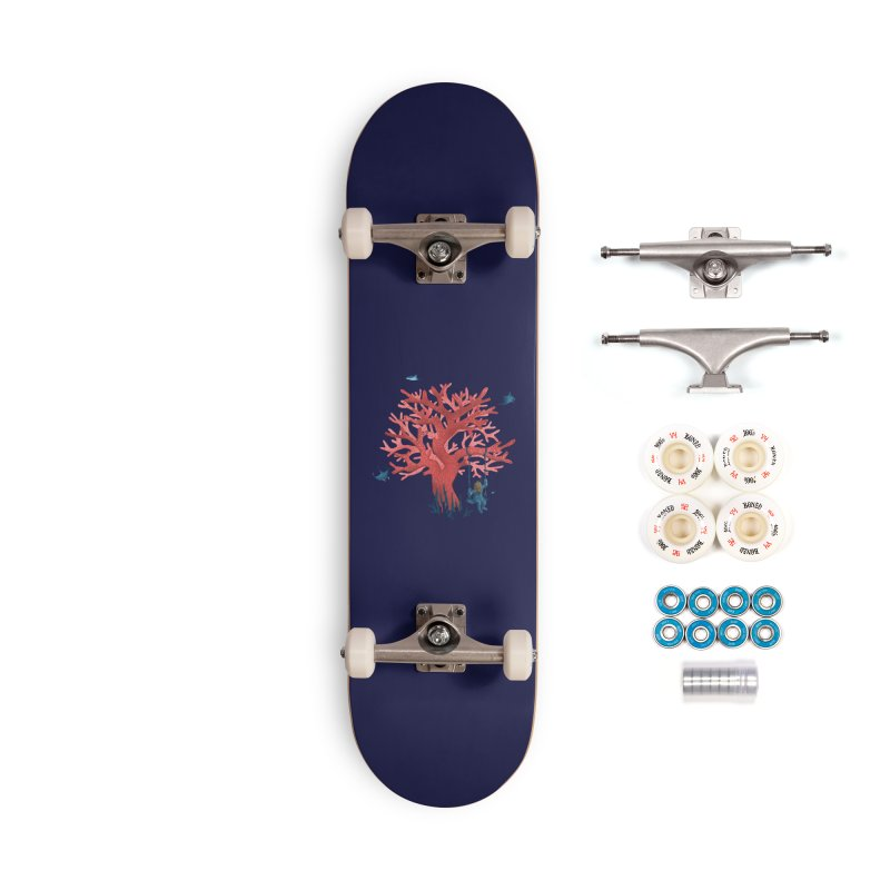 Coral Swing Accessories Complete - Premium Skateboard by kooky love's Artist Shop