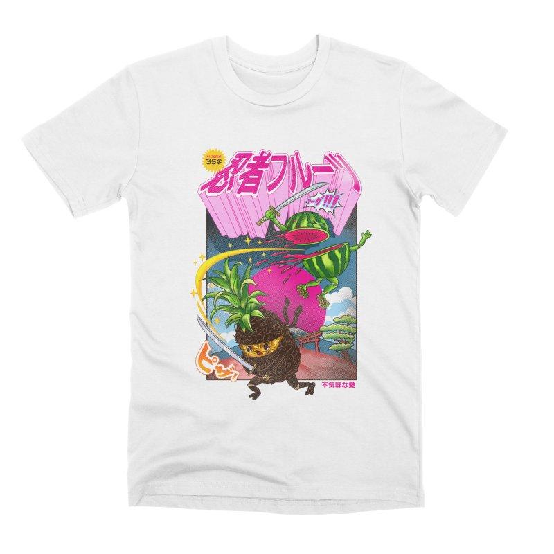 Ninja Fruit Men's Premium T-Shirt by kooky love's Artist Shop
