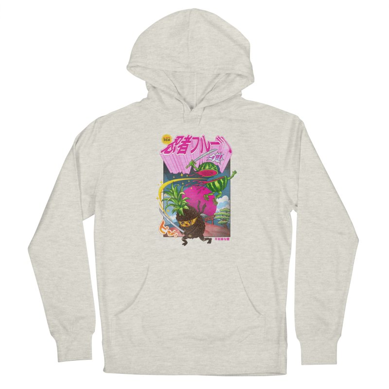 Ninja Fruit Women's French Terry Pullover Hoody by kooky love's Artist Shop