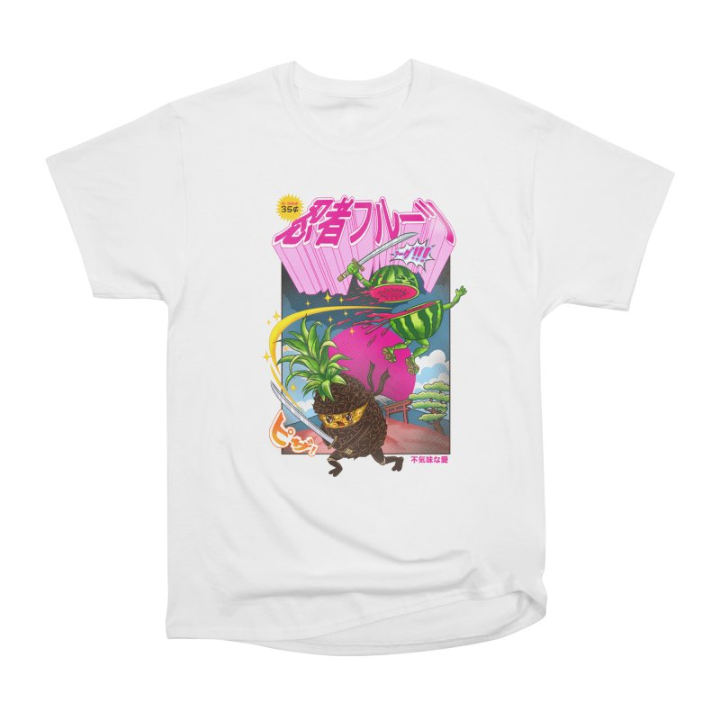 Ninja Fruit Men's Heavyweight T-Shirt by kooky love's Artist Shop