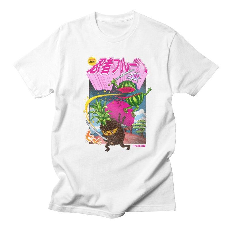 Ninja Fruit Men's Regular T-Shirt by kooky love's Artist Shop