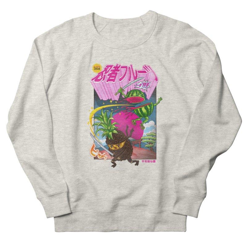 Ninja Fruit Women's French Terry Sweatshirt by kooky love's Artist Shop
