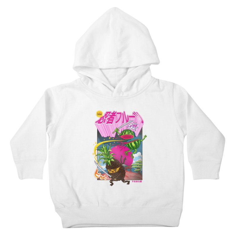 Ninja Fruit Kids Toddler Pullover Hoody by kooky love's Artist Shop
