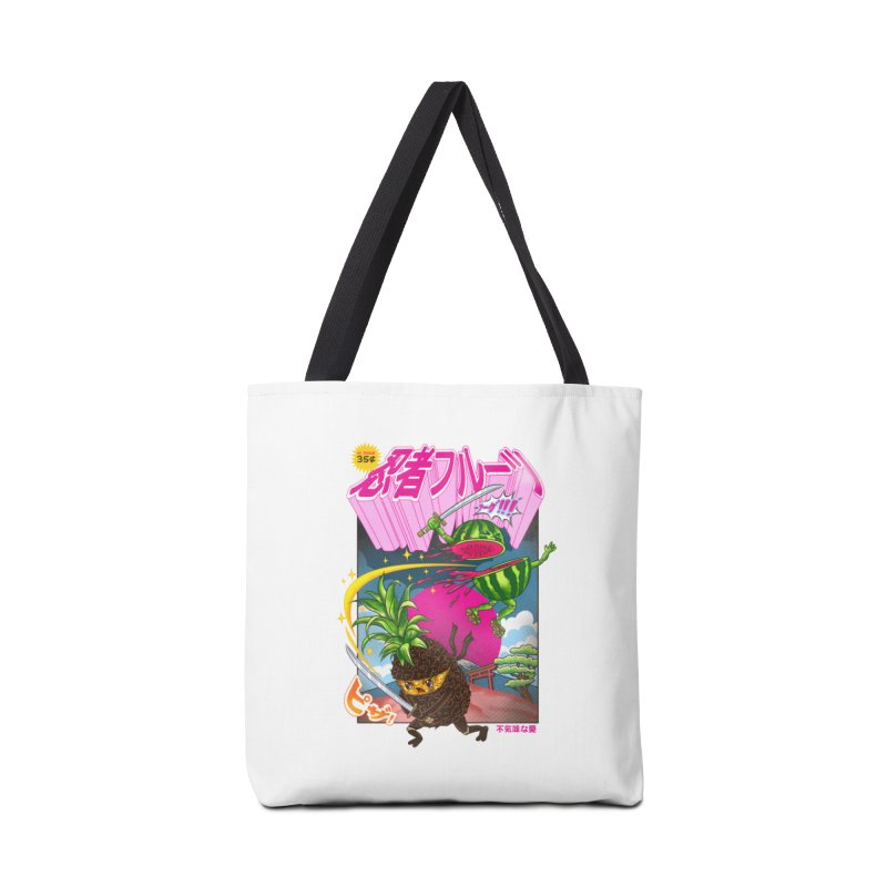 Ninja Fruit Accessories Tote Bag Bag by kooky love's Artist Shop