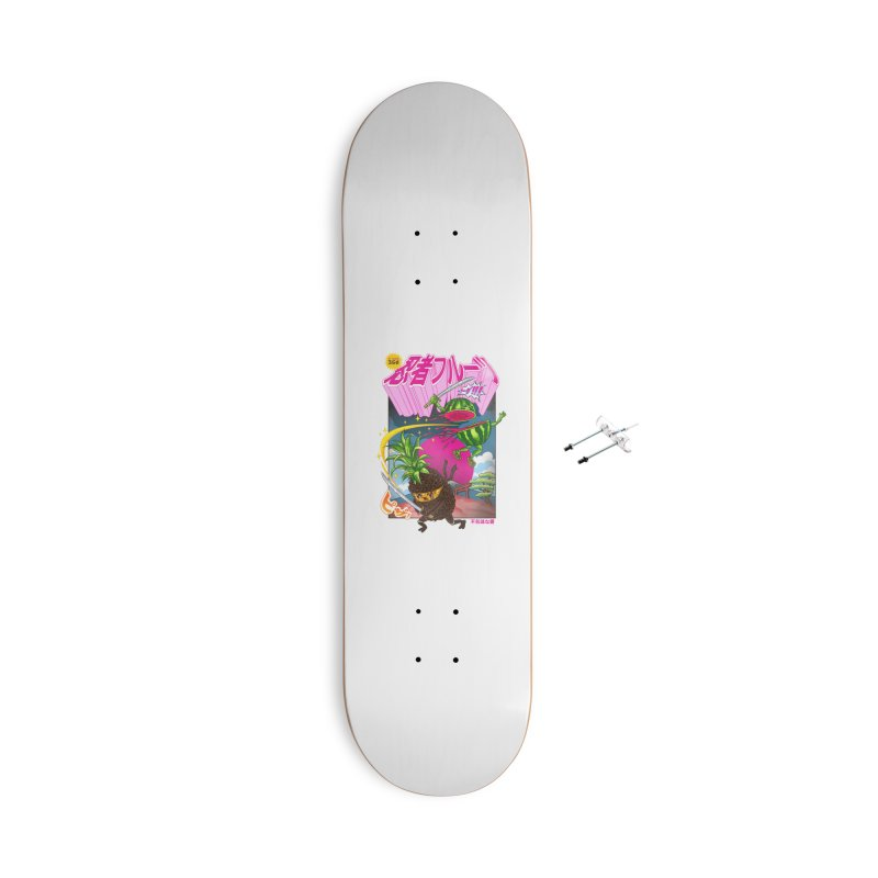 Ninja Fruit Accessories Skateboard by kooky love's Artist Shop