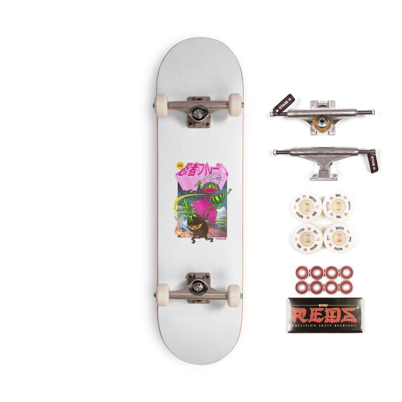 Ninja Fruit Accessories Complete - Pro Skateboard by kooky love's Artist Shop