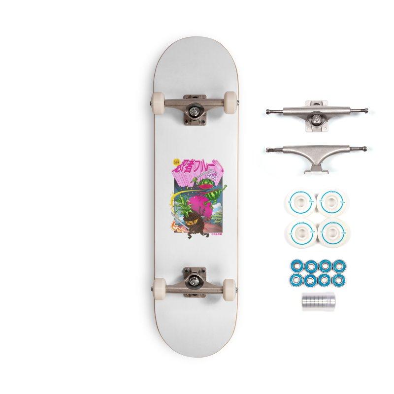 Ninja Fruit Accessories Complete - Basic Skateboard by kooky love's Artist Shop