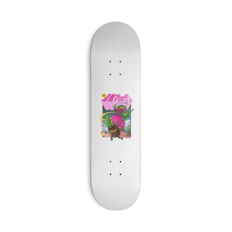 Ninja Fruit Accessories Deck Only Skateboard by kooky love's Artist Shop