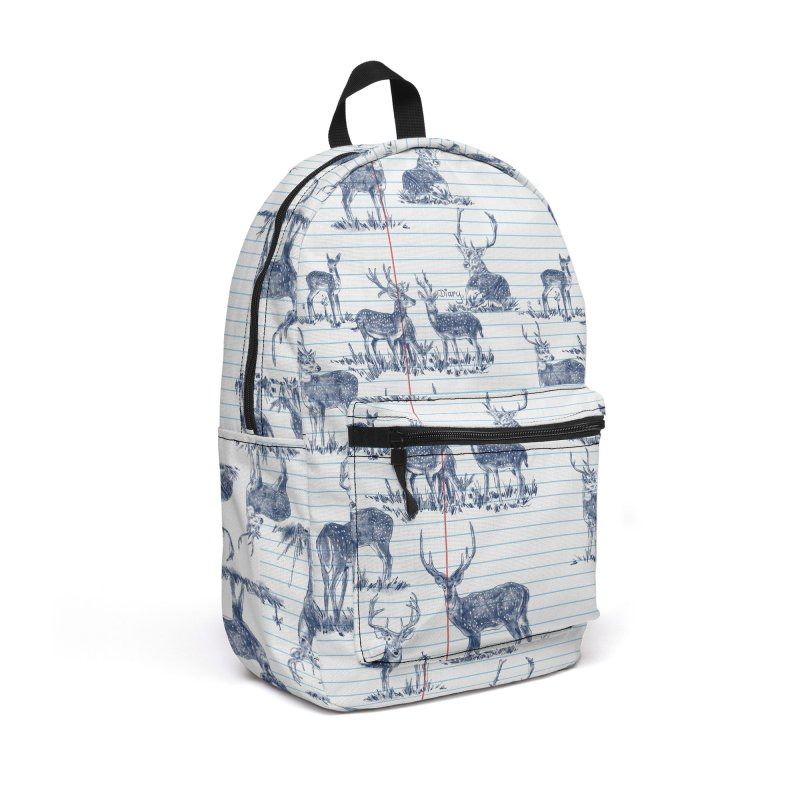 Deer Diary, Accessories Backpack Bag by kooky love's Artist Shop