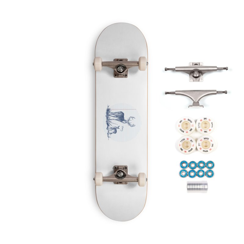 Deer Diary, Accessories Complete - Premium Skateboard by kooky love's Artist Shop