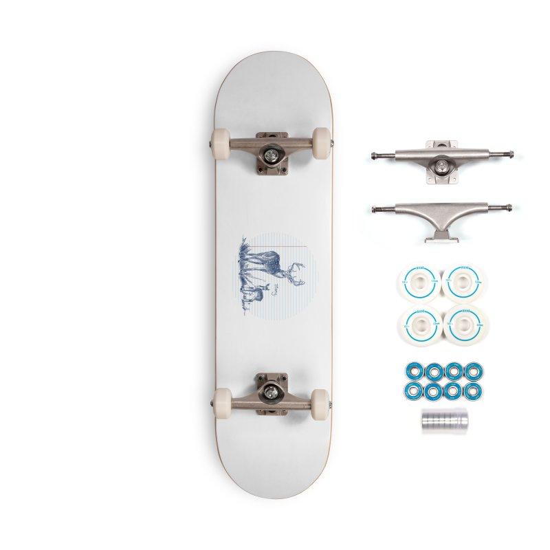 Deer Diary, Accessories Complete - Basic Skateboard by kooky love's Artist Shop