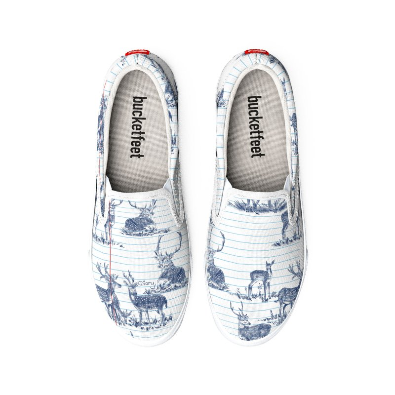 Deer Diary, Women's Shoes by kooky love's Artist Shop