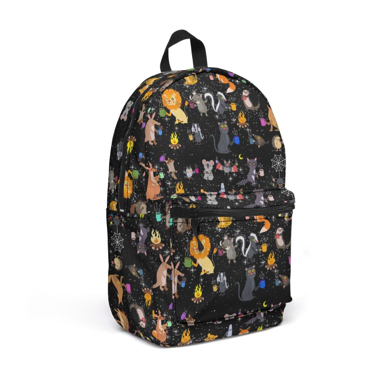 Nocturnal Shift Accessories Backpack Bag by kooky love's Artist Shop