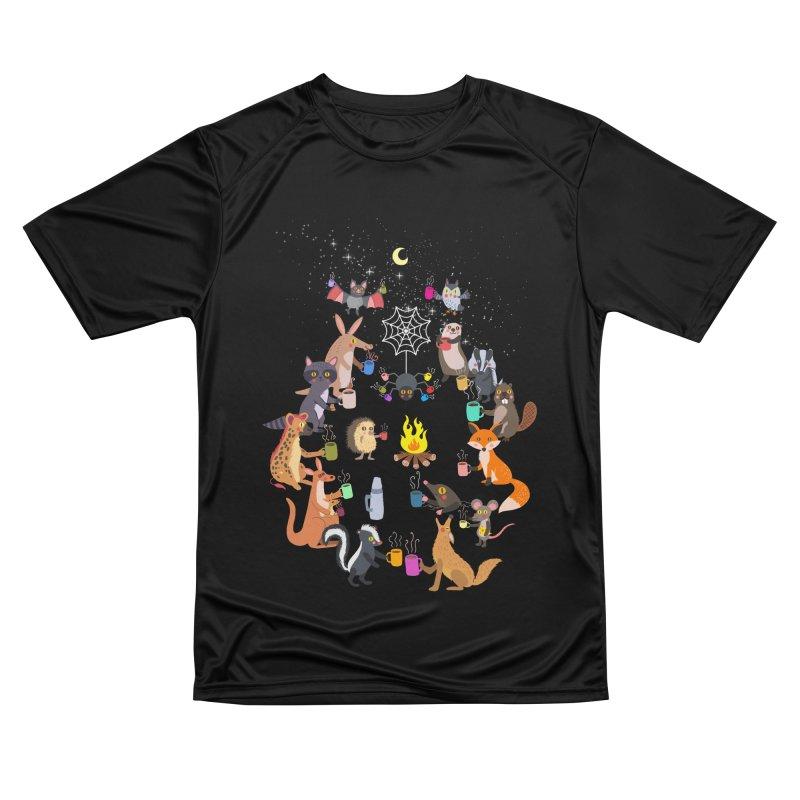 Nocturnal Shift Men's Performance T-Shirt by kooky love's Artist Shop