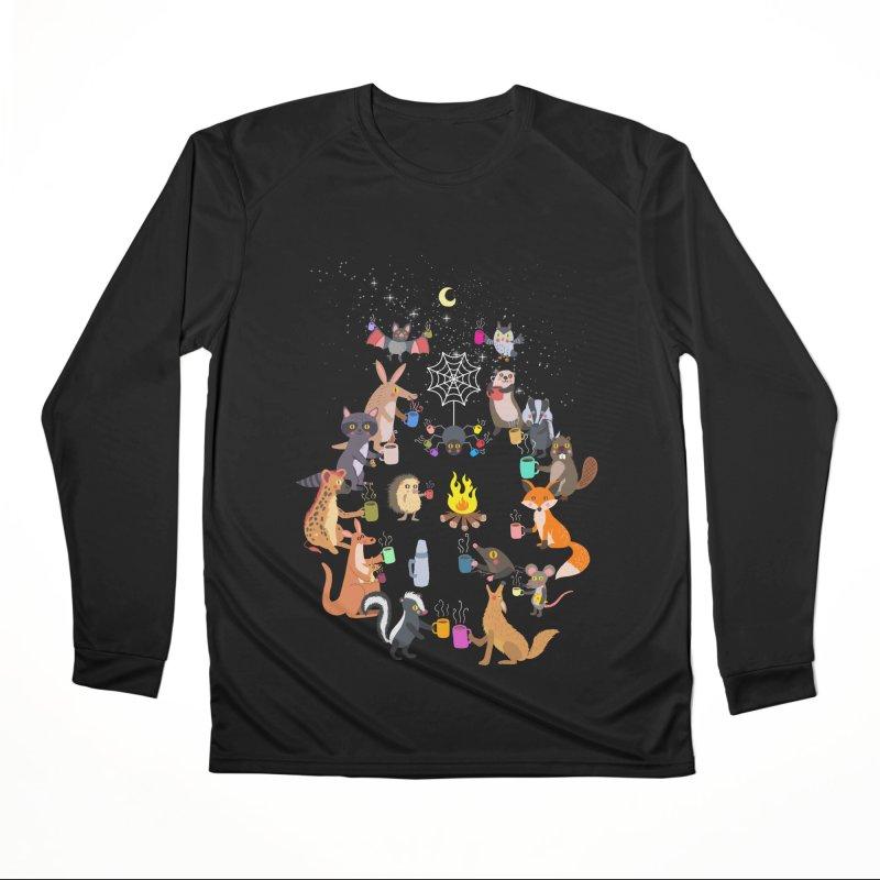Nocturnal Shift Women's Performance Unisex Longsleeve T-Shirt by kooky love's Artist Shop