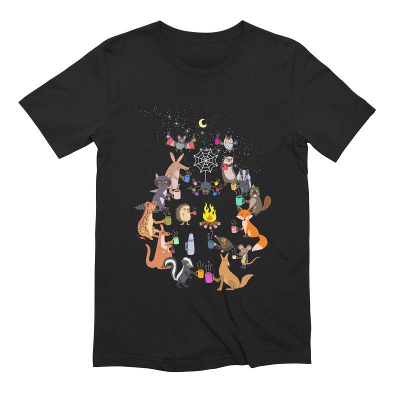 Nocturnal Shift Men's Extra Soft T-Shirt by kooky love's Artist Shop