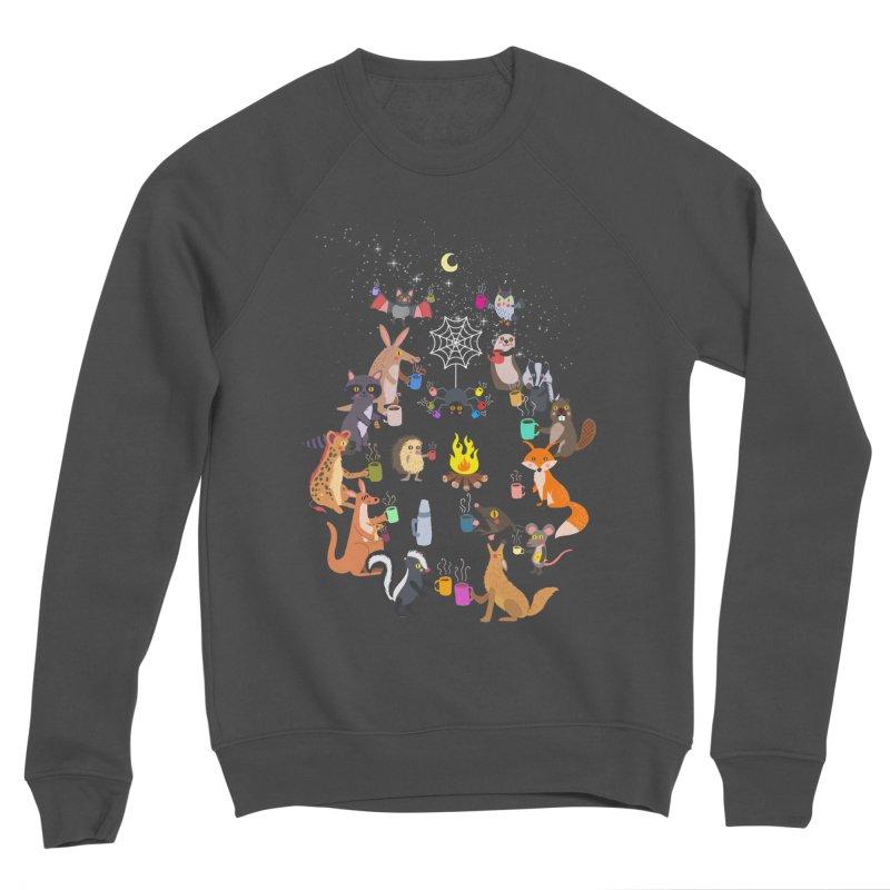 Nocturnal Shift Men's Sponge Fleece Sweatshirt by kooky love's Artist Shop