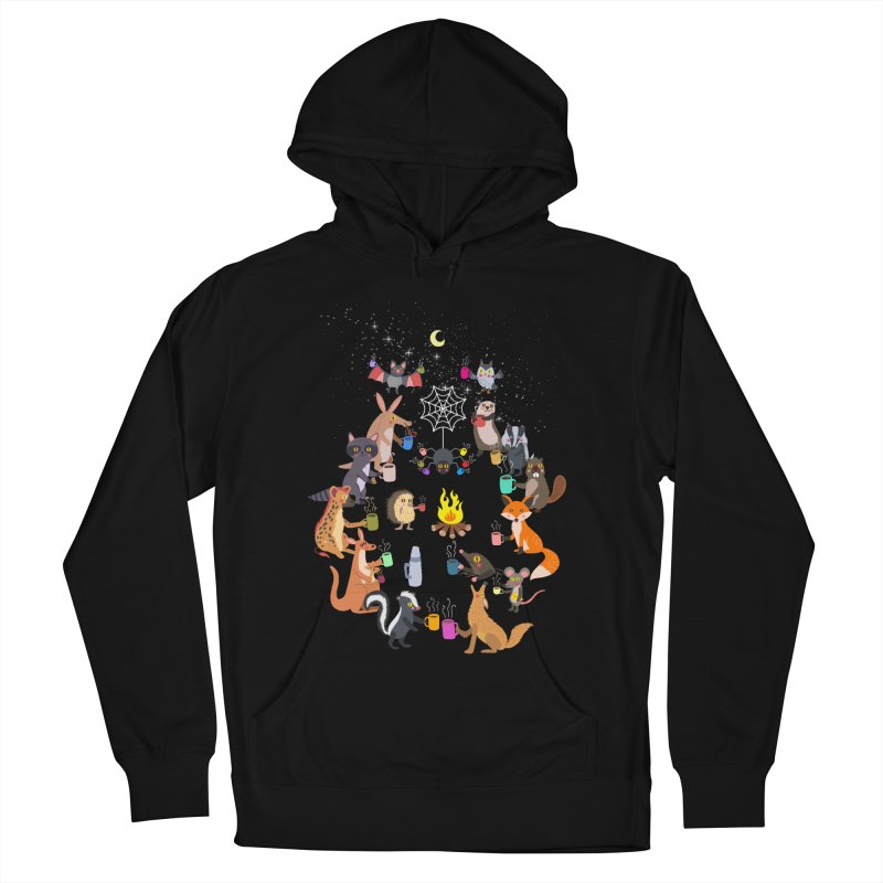 Nocturnal Shift Men's French Terry Pullover Hoody by kooky love's Artist Shop