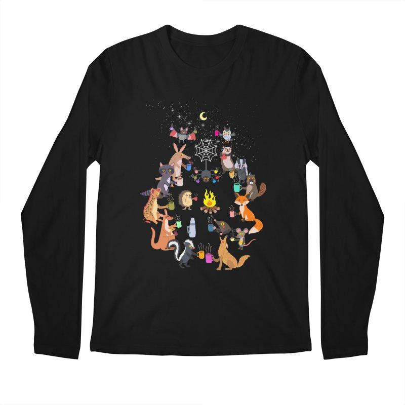 Nocturnal Shift Men's Regular Longsleeve T-Shirt by kooky love's Artist Shop