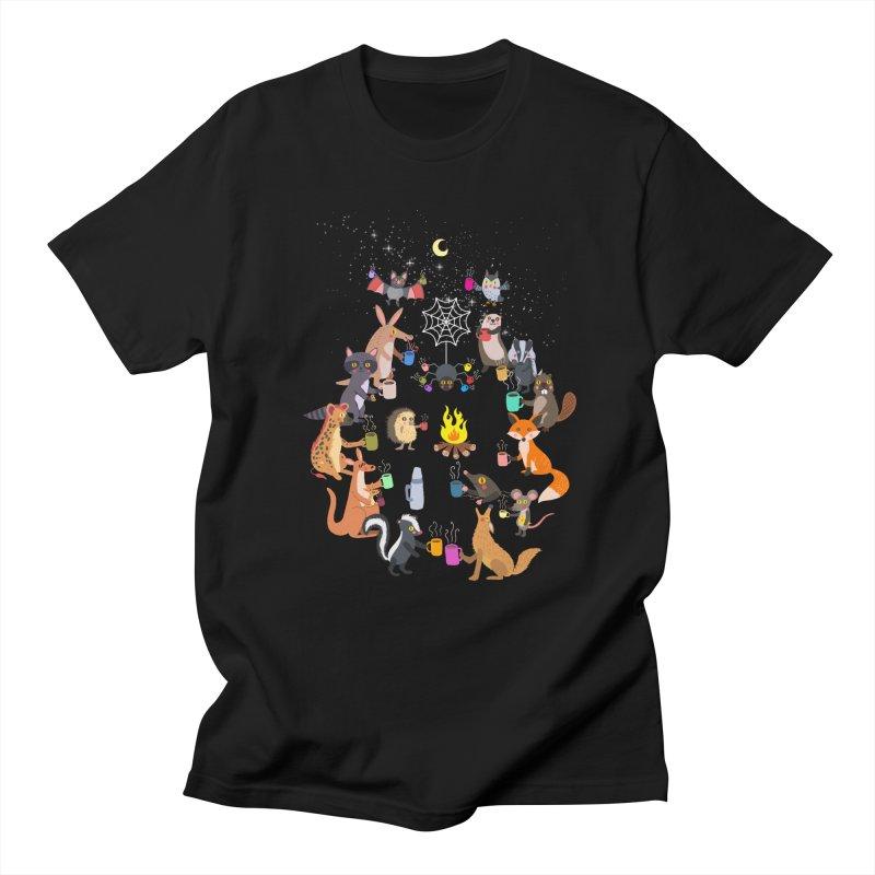 Nocturnal Shift Men's Regular T-Shirt by kooky love's Artist Shop