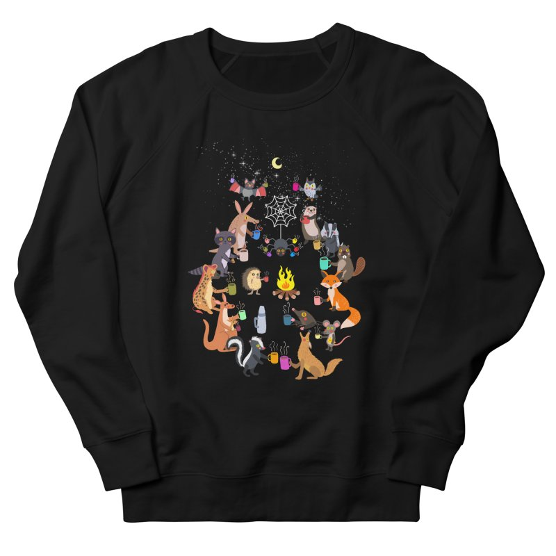 Nocturnal Shift Men's French Terry Sweatshirt by kooky love's Artist Shop