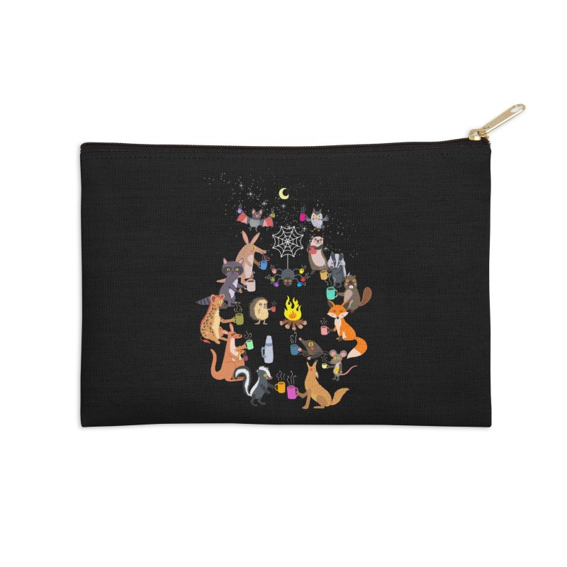Nocturnal Shift Accessories Zip Pouch by kooky love's Artist Shop