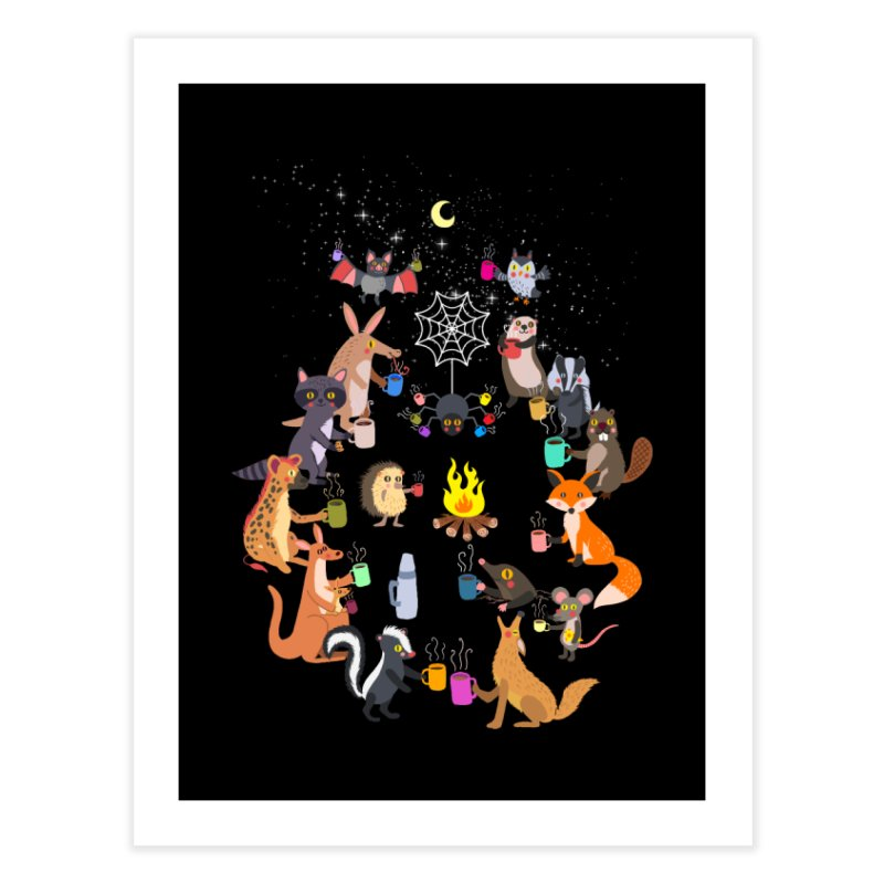 Nocturnal Shift Home Fine Art Print by kooky love's Artist Shop