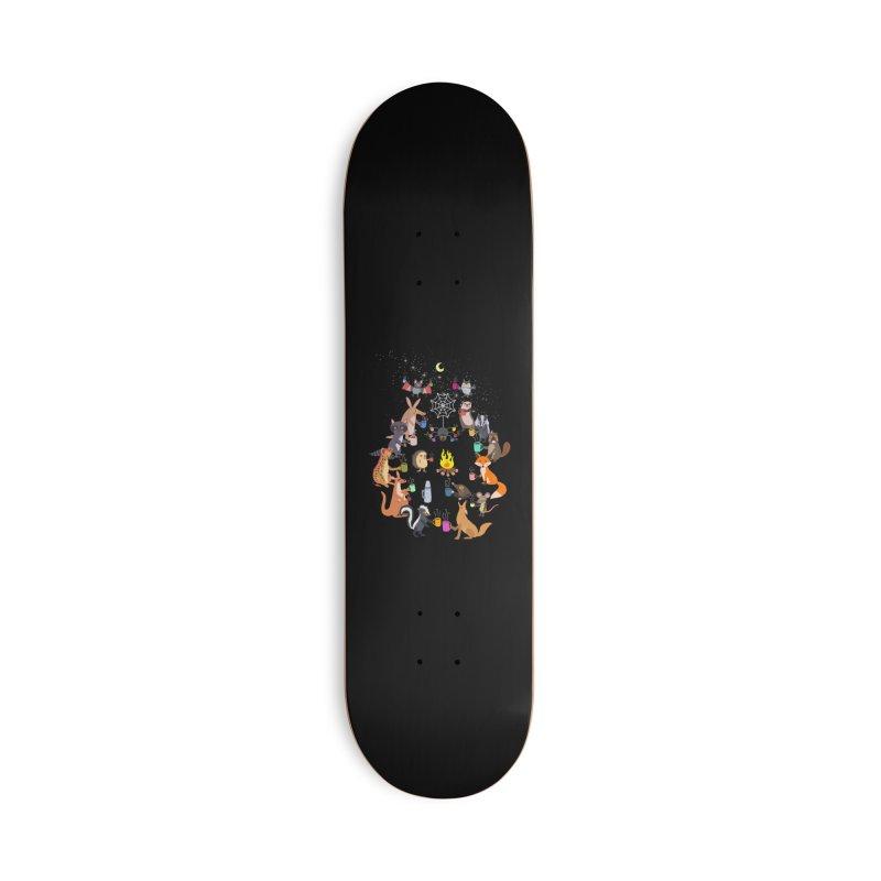 Nocturnal Shift Accessories Deck Only Skateboard by kooky love's Artist Shop