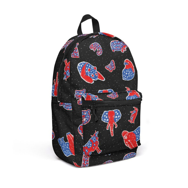 AMERICANIMAL Accessories Backpack Bag by kooky love's Artist Shop