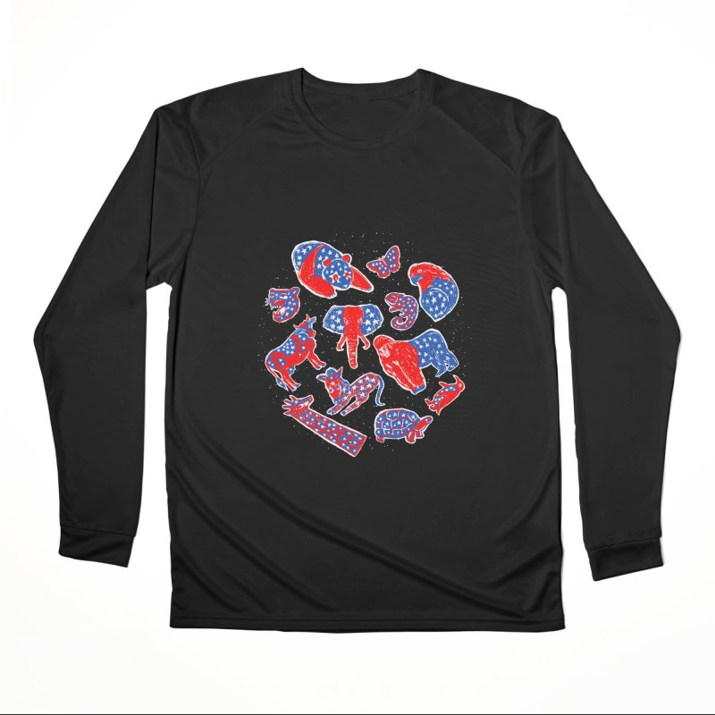 AMERICANIMAL Men's Performance Longsleeve T-Shirt by kooky love's Artist Shop